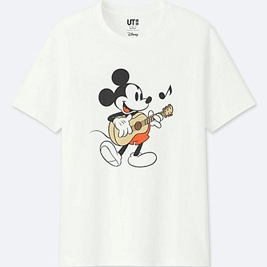 MEN SOUNDS OF DISNEY SHORT-SLEEVE GRAPHIC T-SHIRT, WHITE, medium