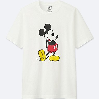 T-SHIRT  MICKEY STANDS MANCHES COURTES HOMME