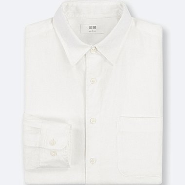 992b414d3fc1 MEN PREMIUM LINEN LONG-SLEEVE SHIRT