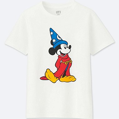 KIDS DISNEY FANTASIA SHORT-SLEEVE GRAPHIC T-SHIRT, WHITE, medium