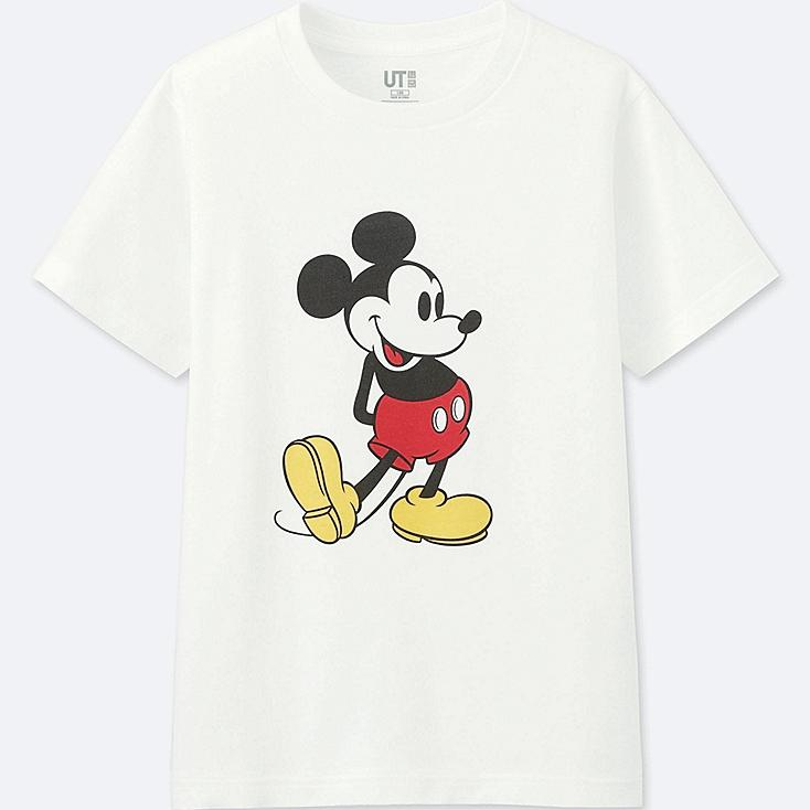 KIDS MICKEY STANDS GRAPHIC SHORT SLEEVE T-SHIRT