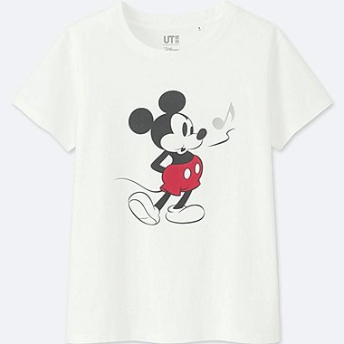 CAMISETA GRAFICA SOUNDS OF DISNEY MUJER