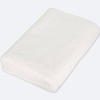 BATH TOWEL, WHITE, medium