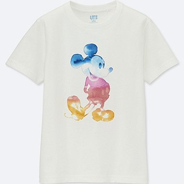 KIDS Mickey & The Sun Short Sleeve Graphic T-Shirt