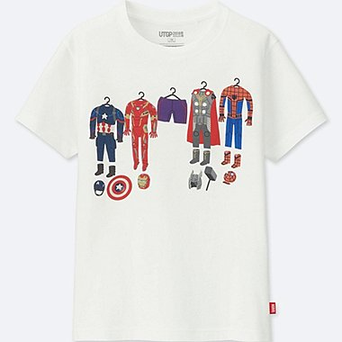 KIDS UT Grand Prix MARVEL SHORT SLEEVE GRAPHIC T-SHIRT