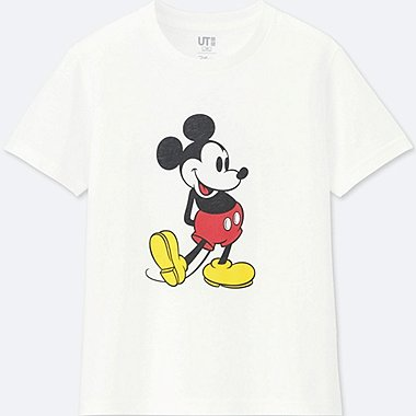 KINDER T-SHIRT BEDRUCKT MICKEY STANDS