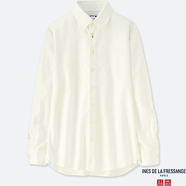 WOMEN INES OXFORD LONG SLEEVE SHIRT