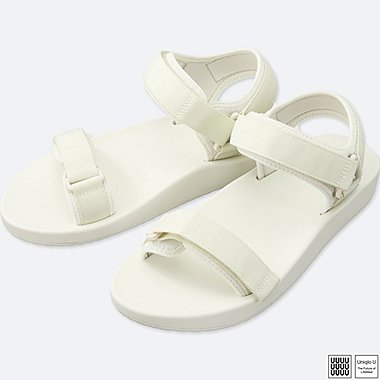 MEN U SANDALS, WHITE, medium
