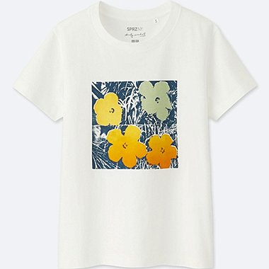 WOMEN SPRZ NY GRAPHIC T-SHIRT (ANDY WARHOL)