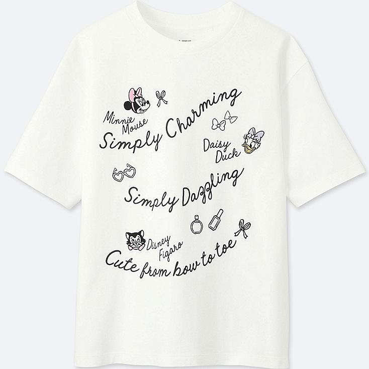 WOMEN MINNIE MOUSE BEST FRIENDS FOREVER SHORT-SLEEVE GRAPHIC T-SHIRT, WHITE, large