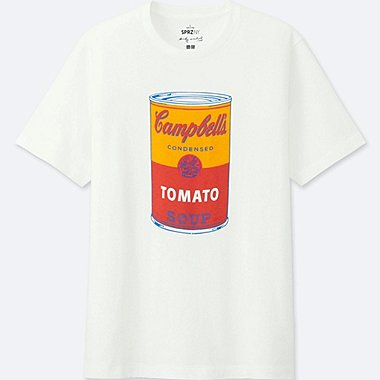 CAMISETA SHORT SLEEVE GRAPHIC SPRZ NY (ANDY WARHOL) HOMBRE
