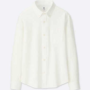 BOYS EASY CARE COMFORT SHIRT, WHITE, medium