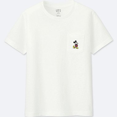 KIDS MICKEY STANDS GRAPHIC SHORT-SLEEVE T-SHIRT, WHITE, medium