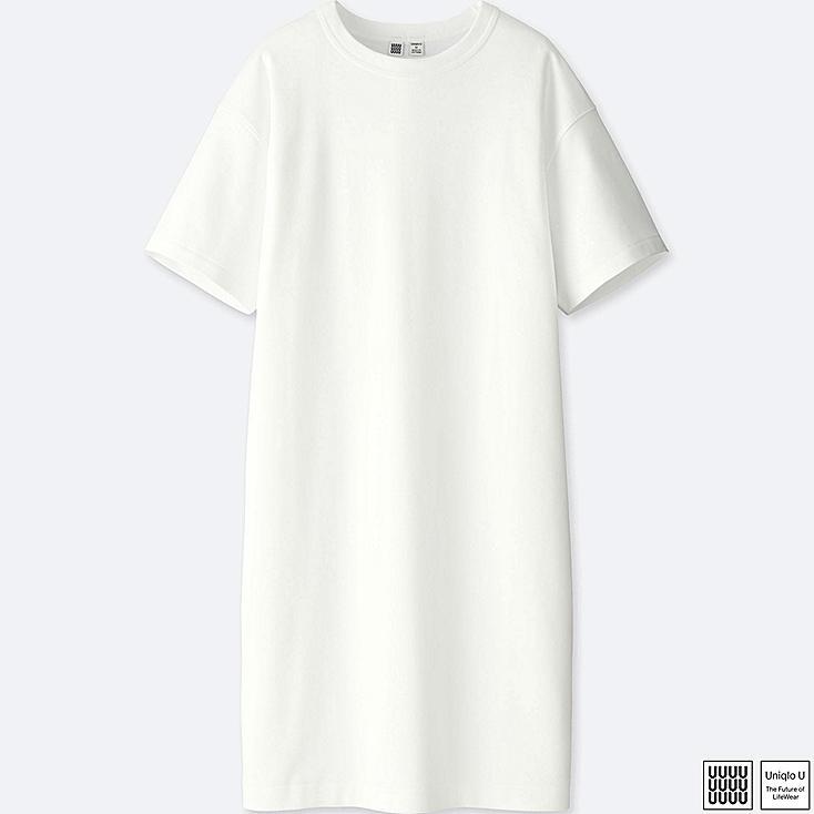 WOMEN UNIQLO U 100 COTTON T SHIRT DRESS