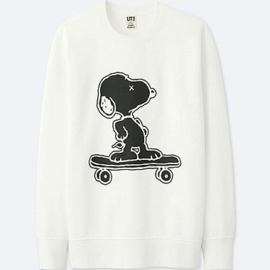 MEN KAWS X PEANUTS SWEATSHIRT, WHITE, medium