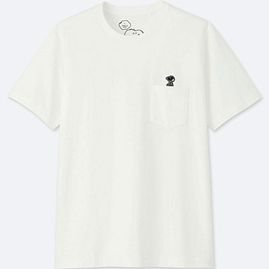 MEN KAWS X PEANUTS SHORT SLEEVE GRAPHIC T-SHIRT