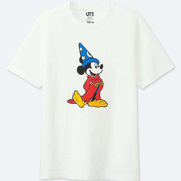 MEN DISNEY FANTASIA COLLECTION GRAPHIC T-SHIRT, WHITE, large
