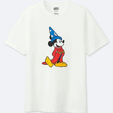 MEN DISNEY FANTASIA COLLECTION GRAPHIC T-SHIRT, WHITE, medium