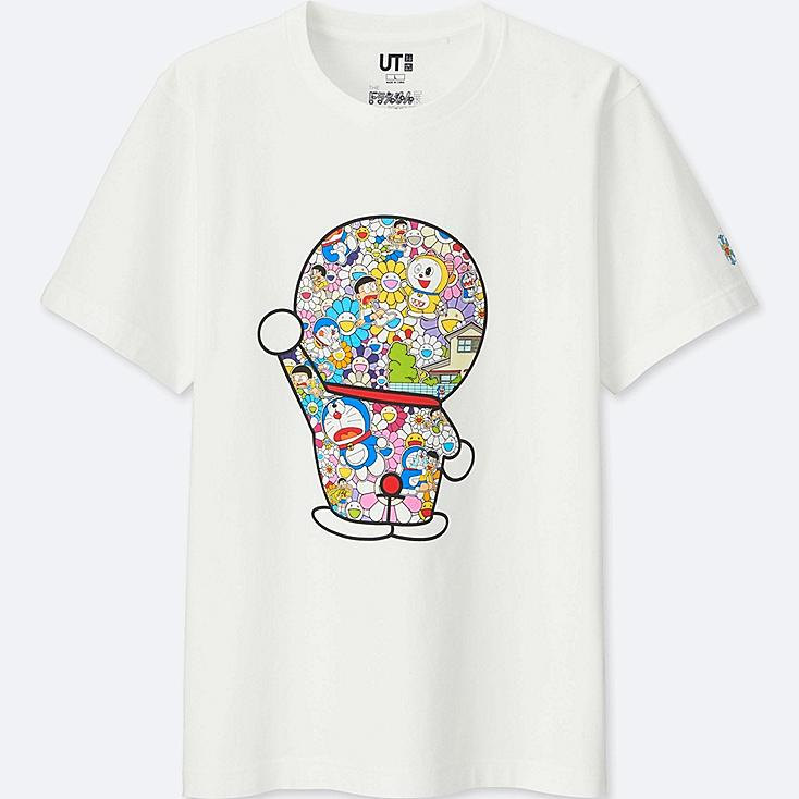 DORAEMON X TAKASHI MURAKAMI SHORT-SLEEVE GRAPHIC T-SHIRT | Tuggl