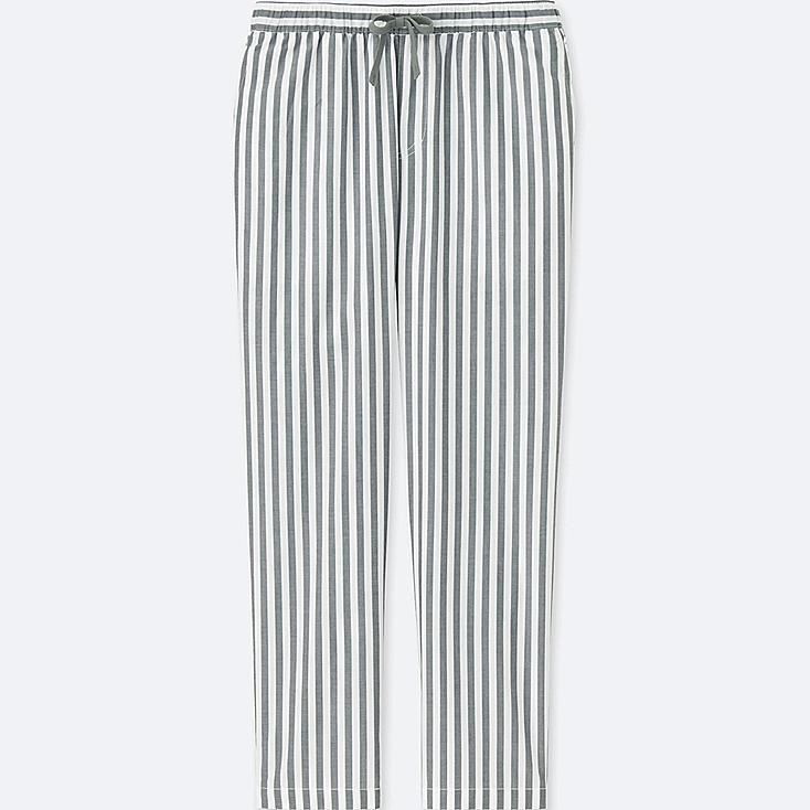 MEN LIGHT COTTON EASY PANTS, WHITE, large