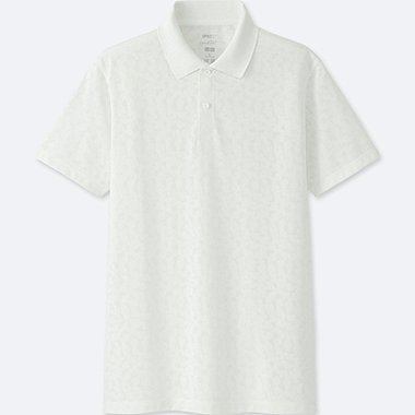 MEN SPRZ NY Dry-EX Short Sleeve Polo Shirt (Francois Morellet)