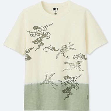 KARAKAMI KARACHO SHORT-SLEEVE GRAPHIC T-SHIRT, WHITE, medium