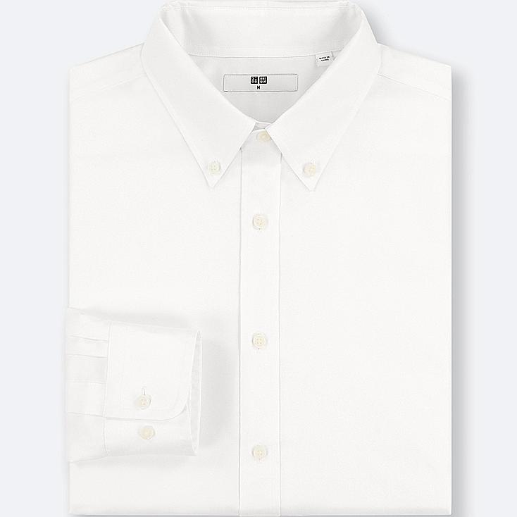 MEN EASY CARE OXFORD REGULAR-FIT LONG-SLEEVE SHIRT (ONLINE EXCLUSIVE) | Tuggl