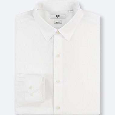 MEN EASY CARE STRETCH SLIM FIT SHIRT (NO POCKET)