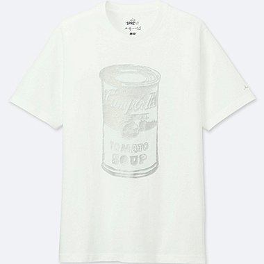 MEN SPRZ NY SILVER FACTORY (ANDY WARHOL) GRAPHIC T-SHIRT