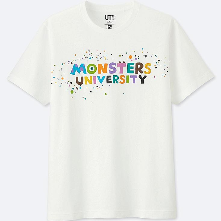 COLOR OF PIXAR SHORT SLEEVE GRAPHIC T-SHIRT (MONSTERS, INC.), WHITE, large