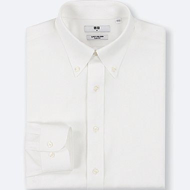 MEN SUPER NON-IRON SLIM FIT SHIRT (BUTTON-DOWN COLLAR)