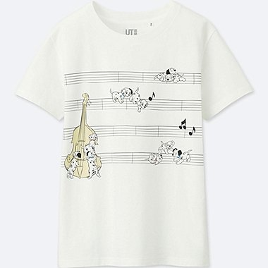 WOMEN SOUNDS OF DISNEY SHORT-SLEEVE GRAPHIC T-SHIRT, WHITE, medium