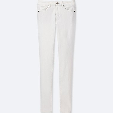 WOMEN ULTRA STRETCH JEANS, WHITE, medium