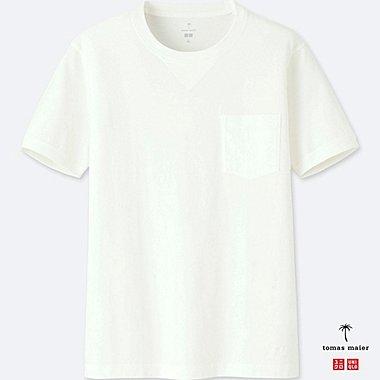 Herren Tomas Maier 100% SUPIMA BAUMWOLL T-Shirt