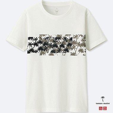Herren Tomas Maier 100% SUPIMA BAUMWOLL T-Shirt (Gemustert)
