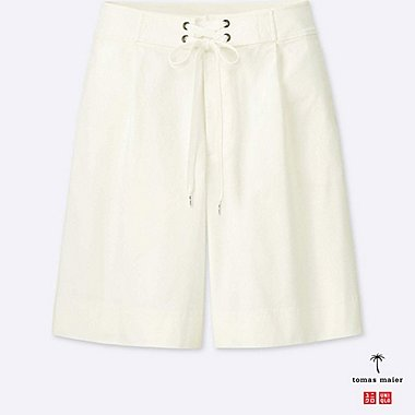 SHORT CHINO AMPLE Tomas Maier FEMME