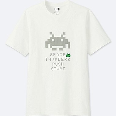 Herren UT T-Shirt The Game by Space Invaders