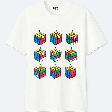 THE BRANDS SHORT-SLEEVE GRAPHIC T-SHIRT (ROLAND), WHITE, medium