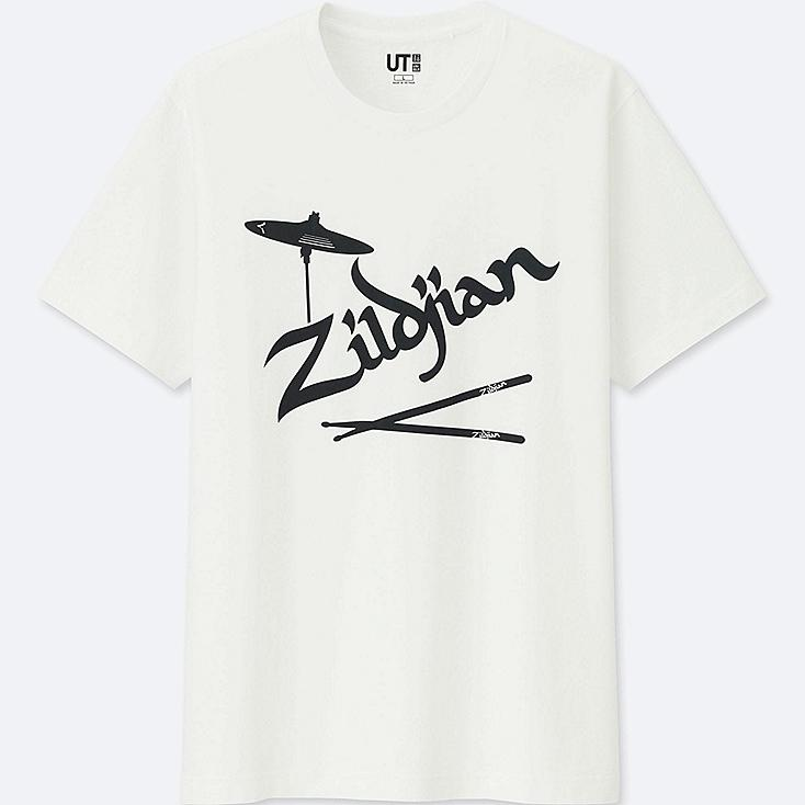 THE BRANDS SHORT-SLEEVE GRAPHIC T-SHIRT (AVEDIS ZILDJIAN), WHITE, large