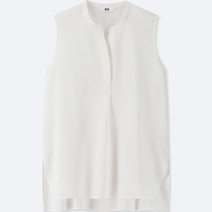 WOMEN RAYON SLEEVELESS BLOUSE at UNIQLO in Brooklyn, NY | Tuggl