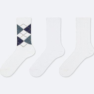 WOMEN Socks (3 PAIRS) (Argyle)