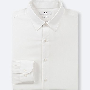 MEN EASY CARE STRETCH SLIM FIT SHIRT (REGULAR COLLAR)