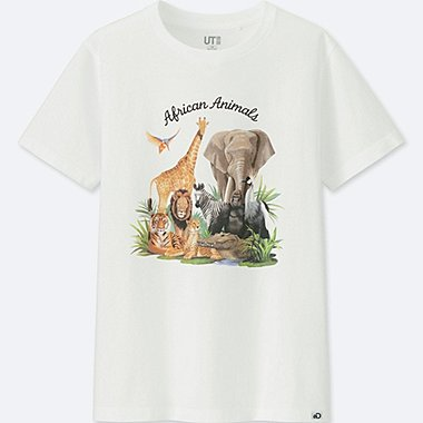KIDS Discovery Channel SHORT-SLEEVE GRAPHIC T-SHIRT, WHITE, medium