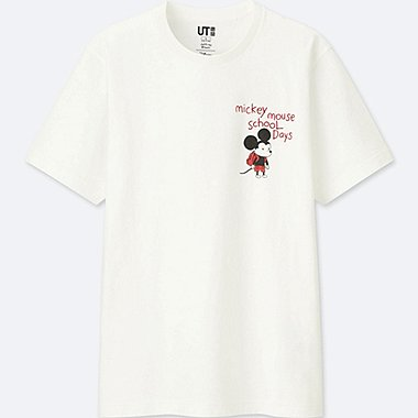 MICKEY ART SHORT-SLEEVE GRAPHIC T-SHIRT (JEFFREY BROWN), WHITE, medium