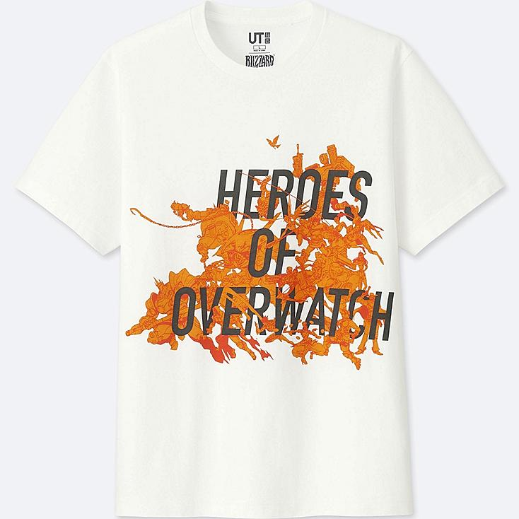 BLIZZARD SHORT-SLEEVE GRAPHIC T-SHIRT (OVERWATCH), WHITE, large