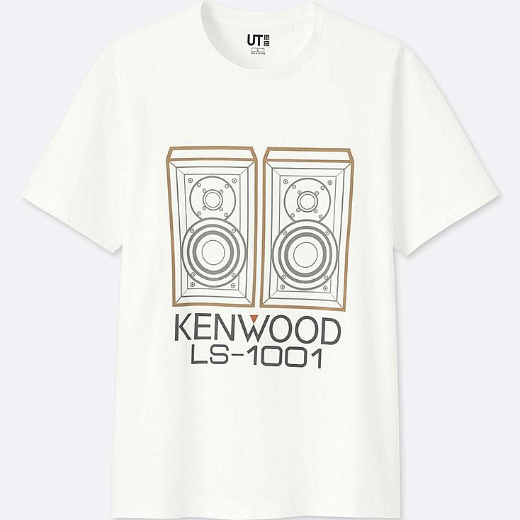 THE BRANDS SHORT-SLEEVE GRAPHIC T-SHIRT (JVCKENWOOD), WHITE, large