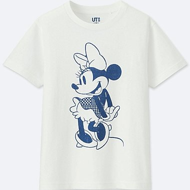 KIDS MICKEY BLUE SHORT-SLEEVE GRAPHIC T-SHIRT, WHITE, medium