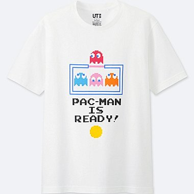 c5415a9c220 THE GAME BY NAMCO MUSEUM SHORT-SLEEVE GRAPHIC T-SHIRT (PAC-MAN ...
