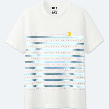 THE GAME BY NAMCO MUSEUM SHORT-SLEEVE GRAPHIC T-SHIRT (PAC-MAN), WHITE, medium