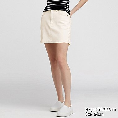 WOMEN DENIM MINI SKIRT